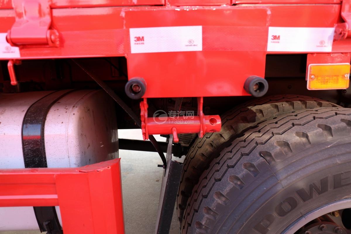 解放J6L单桥国五三一8吨直臂随车吊细节
