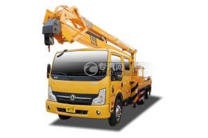东风凯普特N300双排国六18.5米折叠臂式高空作业车