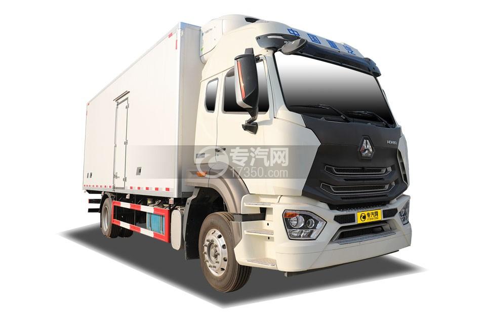 重汽豪瀚N5G国五6.2米冷藏车