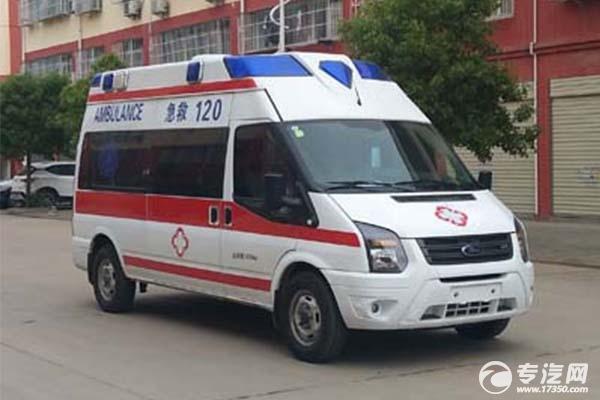 江鈴福特全順V348救護車價格多少錢?