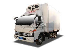 江淮駿鈴V6國六藍牌冷藏車