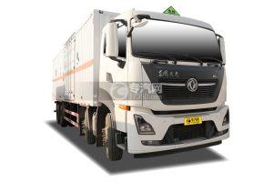 东风天龙KL前四后八国六9.4米易燃气体厢式运输车