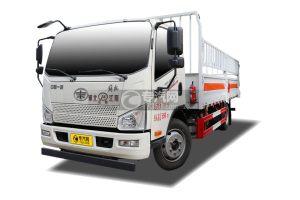 解放J6F国六5.15米气瓶运输车(仓栏式)