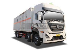 东风天龙KL前四后八国六9.4米易燃液体厢式运输车
