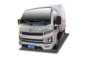 跃进福运S80国六3.4米易燃液体厢式运输车