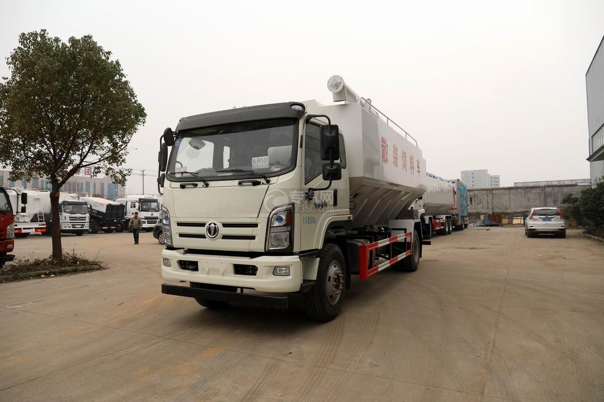 奧馳V6國六散裝飼料運輸車