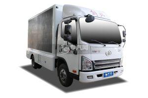 解放虎VN國六LED廣告宣傳車