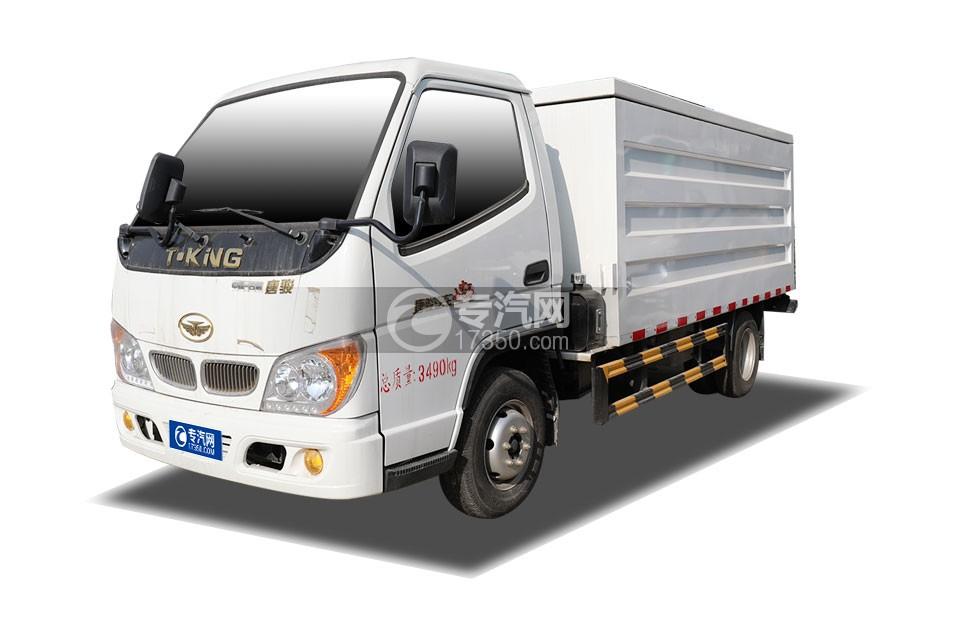 唐駿小寶馬國六桶裝垃圾運輸車
