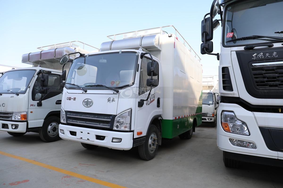 解放虎VN国六餐车图片