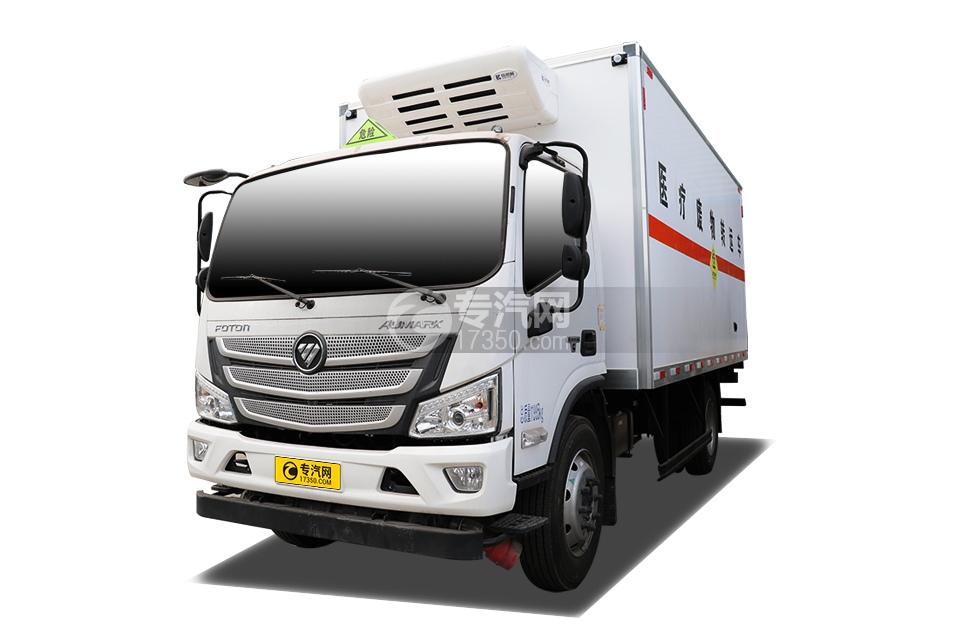 福田歐馬可S3國六5.15米醫療廢物轉運車