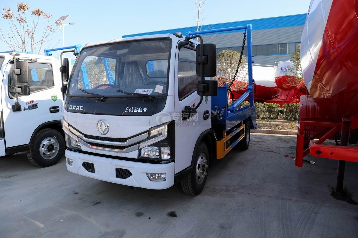 東風多利卡D6國六擺臂式垃圾車圖片
