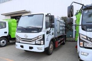 江铃顺达双排国六自卸式垃圾车图片