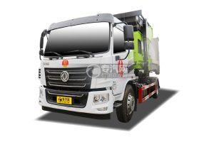 东风华神KL5国六车厢可卸式垃圾车