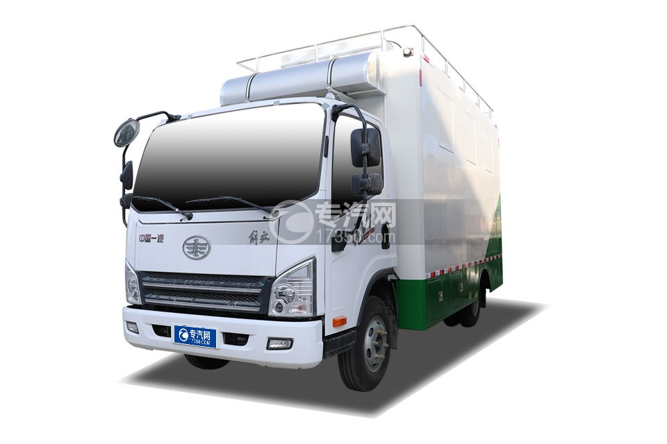 解放虎VN国六餐车