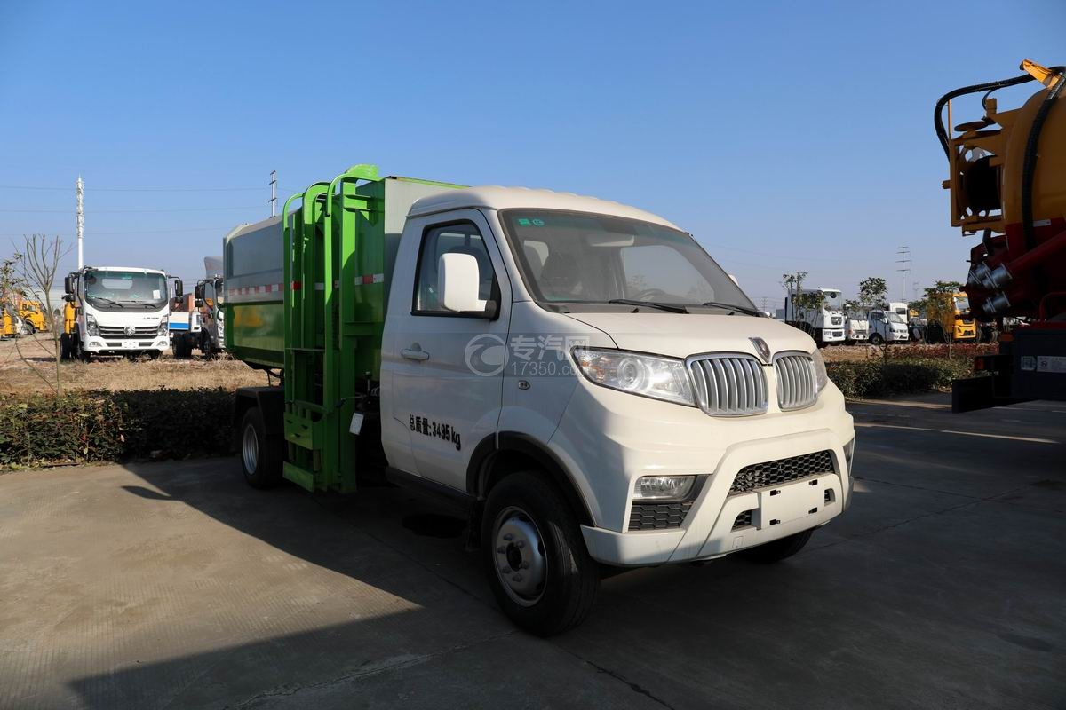 金杯T30國六自裝卸式垃圾車圖片