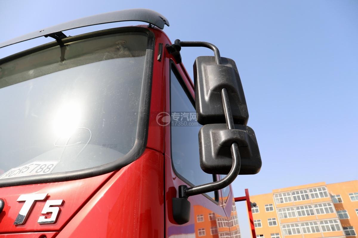 東風華神T5單橋國五8噸直臂隨車吊后視鏡