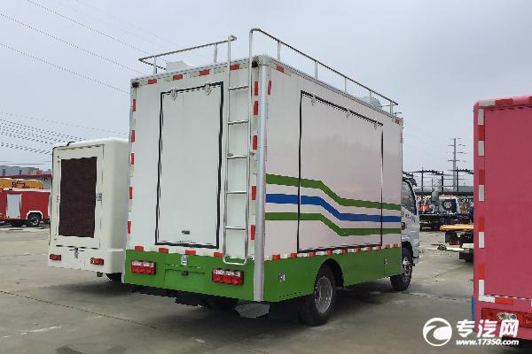 东风多利卡D6国六移动餐车