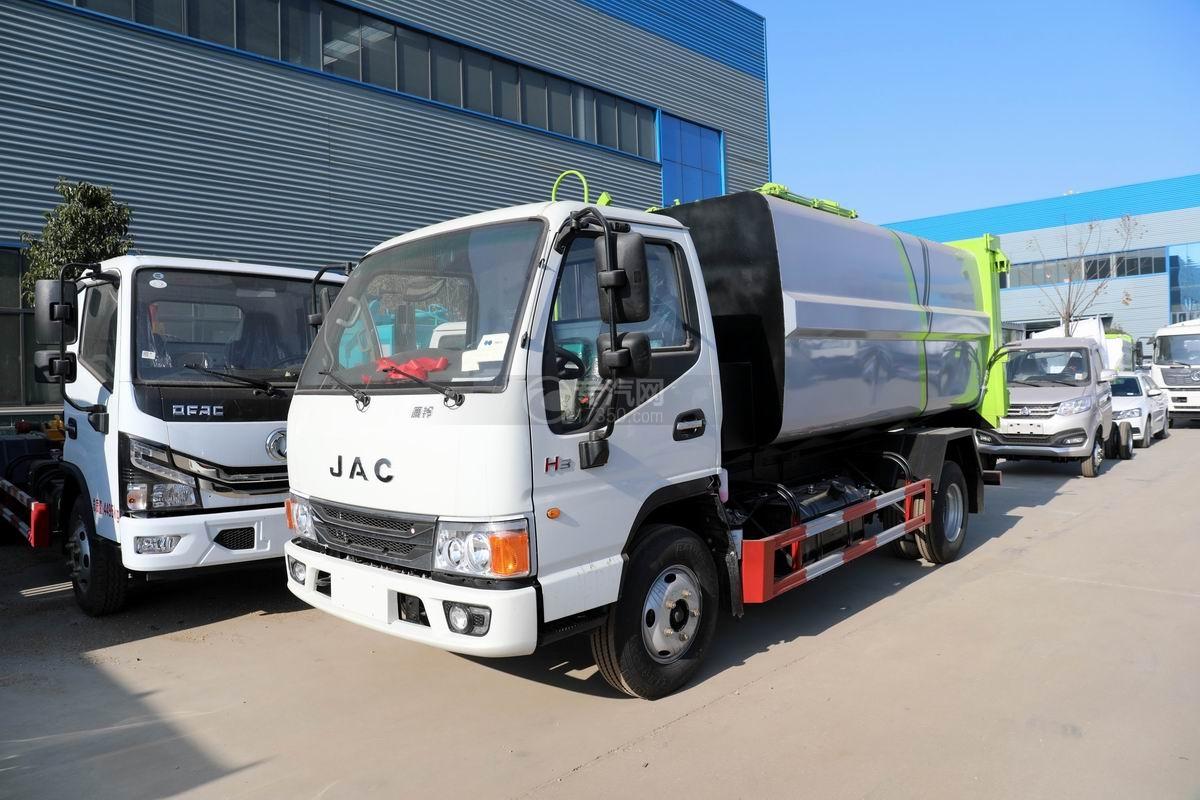 江淮康鈴H3國六自裝卸式垃圾車圖片