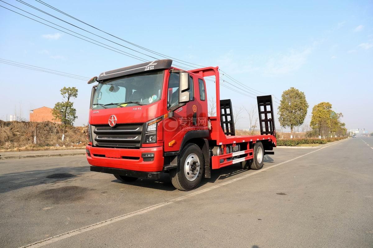 大運祥龍國六排半4.1米軸距平板運輸車