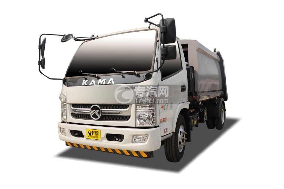 凱馬K8國六壓縮式垃圾車