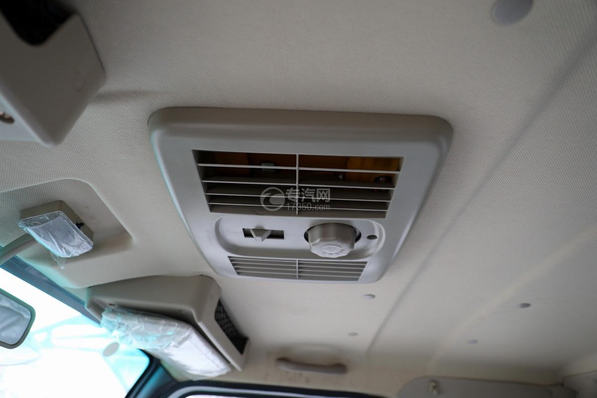 飛碟奧馳V3排半國六黃牌流動舞臺車頂部天窗