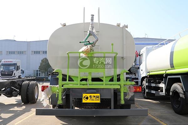 东风畅行D3国六10.5方绿化喷洒车车尾图