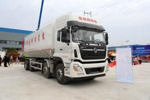 東風天龍前四后八國六散裝飼料運輸車(鋁合金罐體)圖片