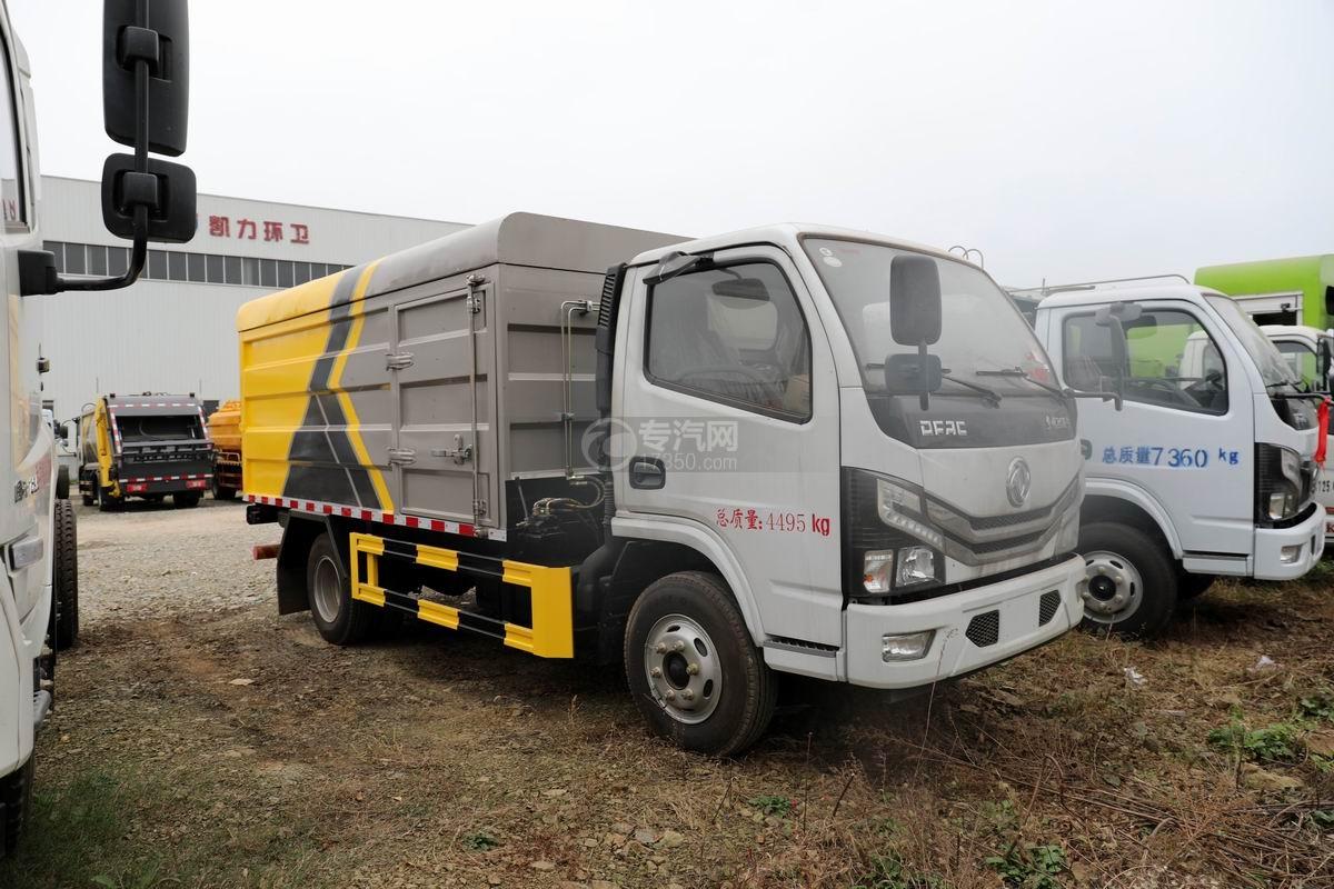 東風多利卡國六桶裝垃圾運輸車