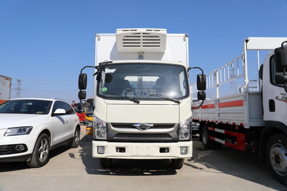 福田康瑞H2国六4米冷藏车车前图