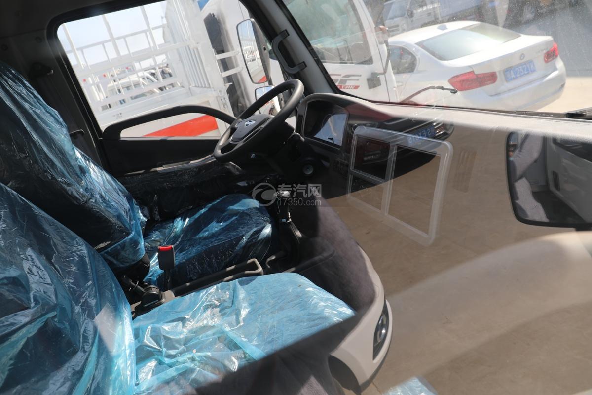 福田康瑞H2国六4米冷藏车驾驶室