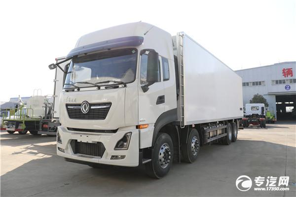 東風天龍KL前四后八國六9.5米冷藏車