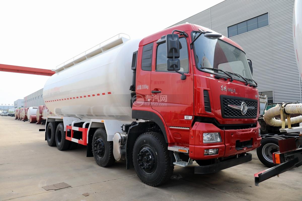东风专用D7V前四后八国六粉粒物料运输车图片