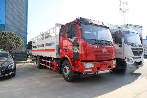 解放J6國五6.16米氣瓶運輸車(倉欄式)圖片