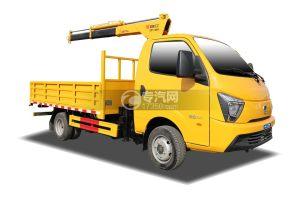 飞碟缔途柴油版国六1.8吨折臂随车吊(黄色)