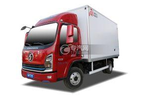 陜汽軒德翼9國六4.15米冷藏車(紅色)