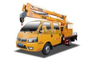 東風途逸雙排國六13米折疊臂式高空作業車
