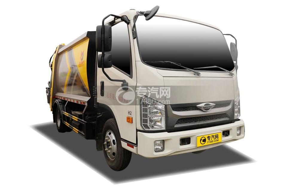 福田时代H2国六压缩式垃圾车
