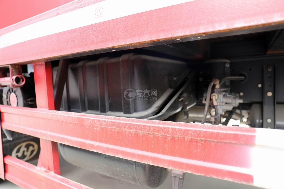 上汽紅巖杰豹國五平板運輸車蓄電池
