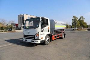 大運奧普力3300軸距國六車廂可卸式垃圾車圖片
