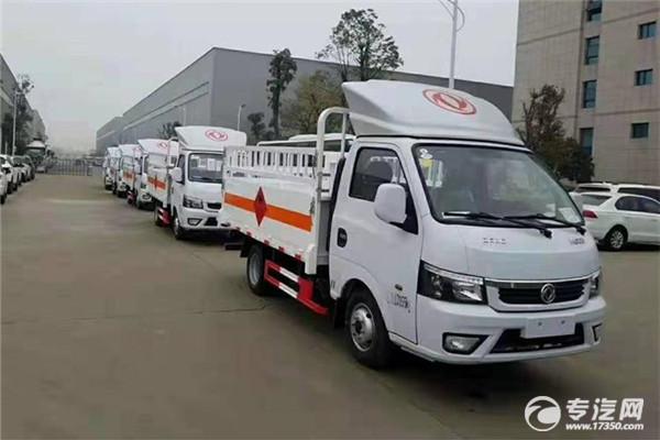 东风途逸国六3.4米气瓶运输车
