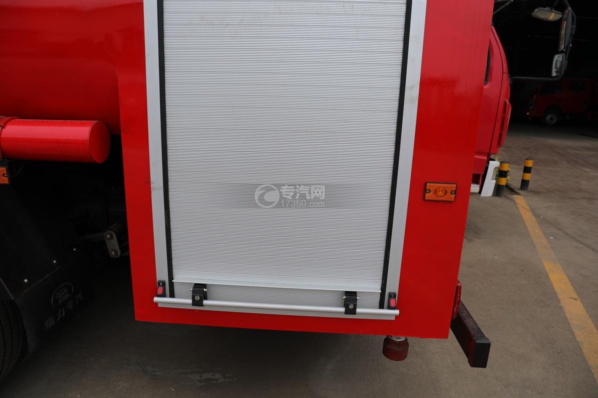 东风多利卡D6双排国六3.7方消防洒水车泵箱