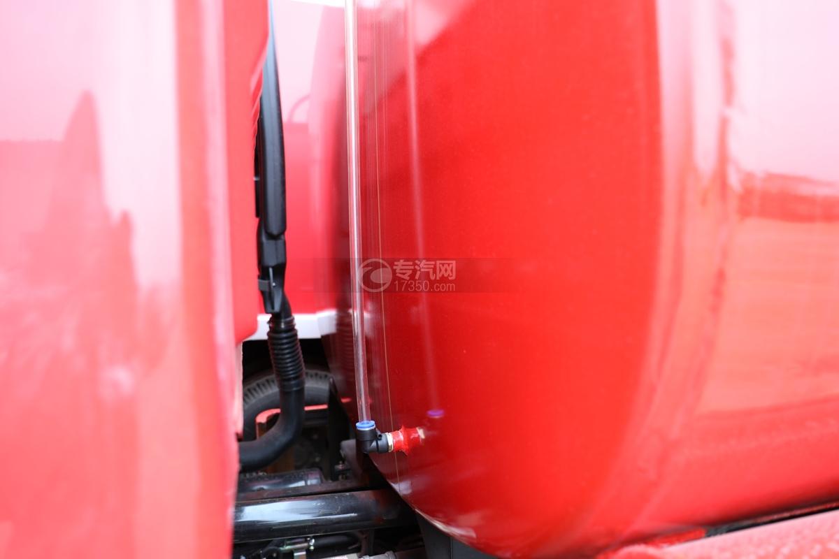 东风多利卡D6双排国六3.7方消防洒水车量管