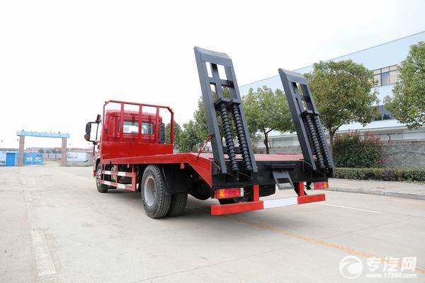 陜汽軒德翼6國五5米軸距平板運輸車
