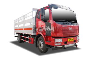 解放J6国五6.16米气瓶运输车(仓栏式)