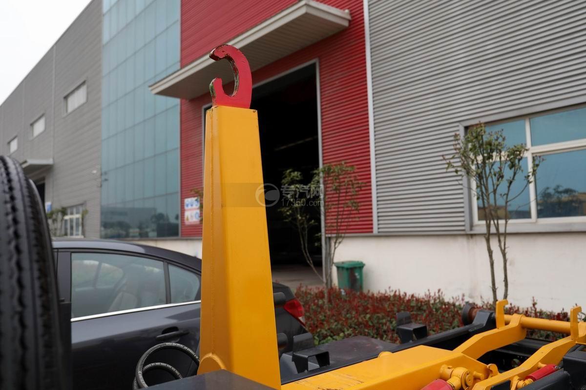 福田時代領航國六小卡之星車廂可卸式垃圾車上裝大臂