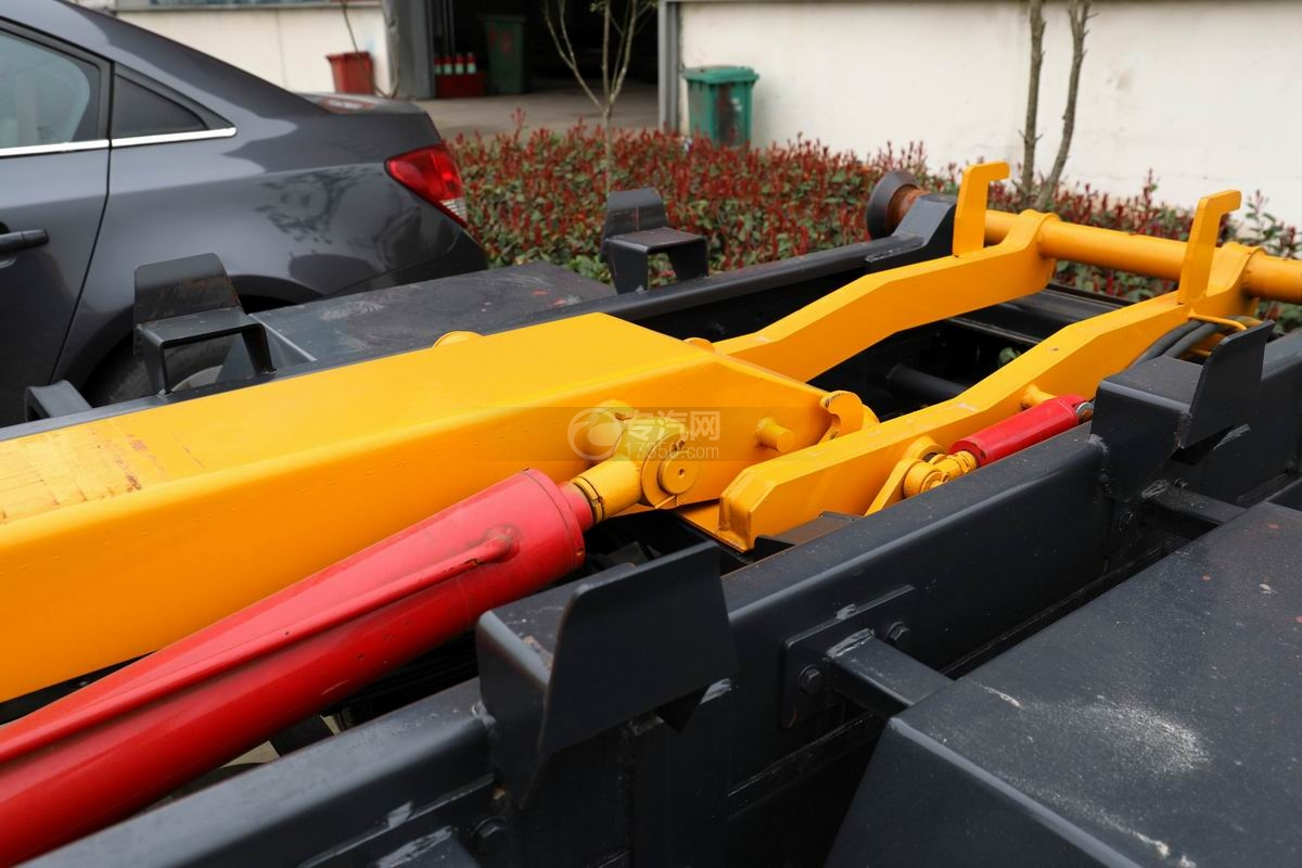 福田時代領航國六小卡之星車廂可卸式垃圾車上裝副車架