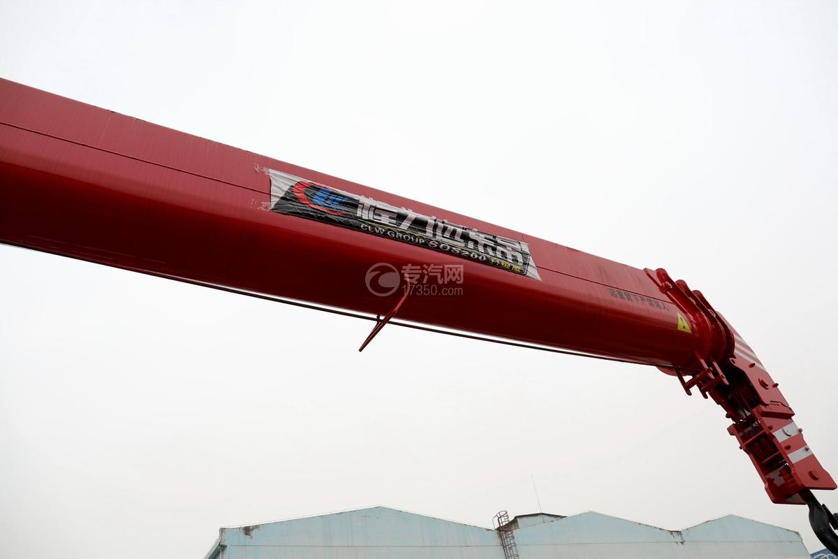 東風華神T5后雙橋國六12噸直臂隨車吊吊機細節