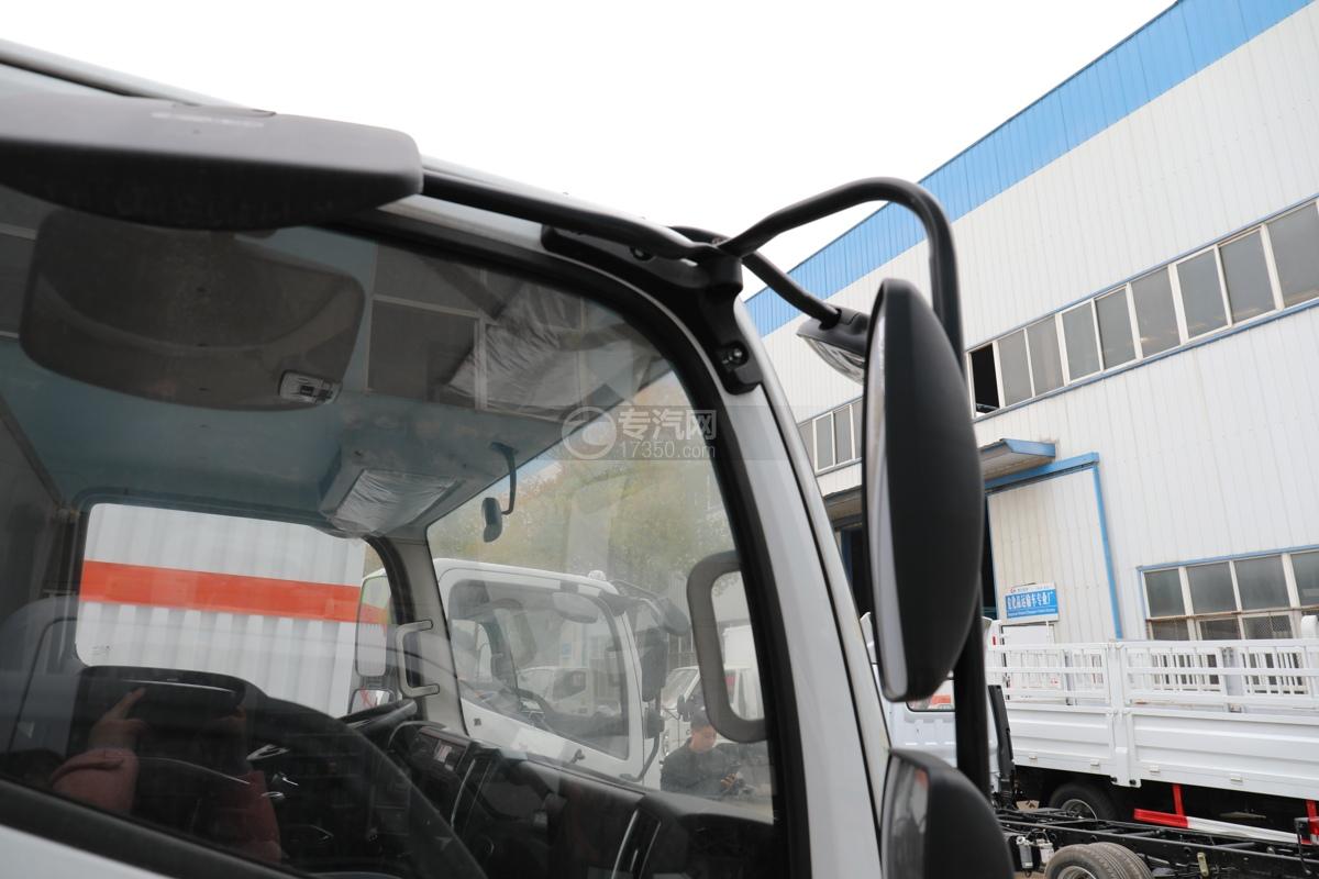 福田歐馬可S3國六4.1米易燃氣體廂式運輸車地視鏡