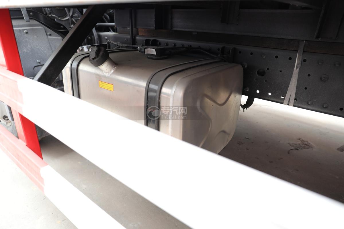 福田歐馬可S3國六4.1米易燃氣體廂式運輸車油箱