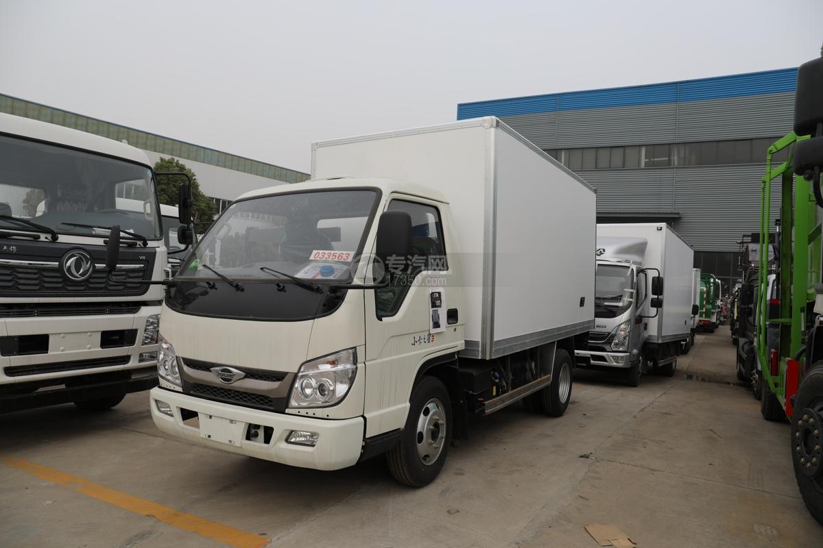 福田時代領航小卡之星3國六3.5米冷藏車